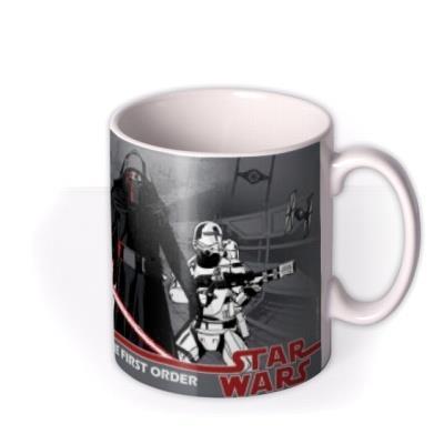 Star Wars First Order Personalised Mug