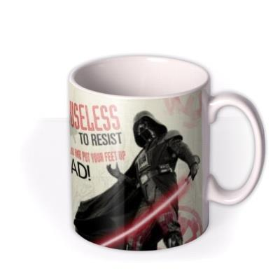 Star Wars Father's Day Useless to Resist Photo Upload Mug
