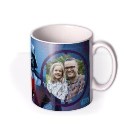 Star Wars Father's Day Dad In Command Photo Upload Mug