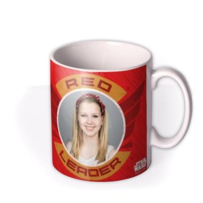 Star Wars Rogue One Red Squadron Photo Upload Mug