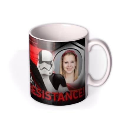 Star Wars Storm Trooper Resistance Photo Upload mug