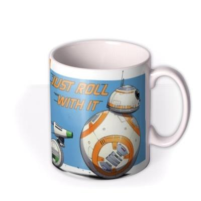 Star Wars Rise Of The Skywalker BB-8 D-O Photo Upload Mug