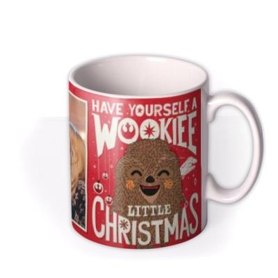 Star Wars Wookiee Little Christmas Photo Upload Mug