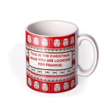Star Wars Stormtrooper Christmas Mug