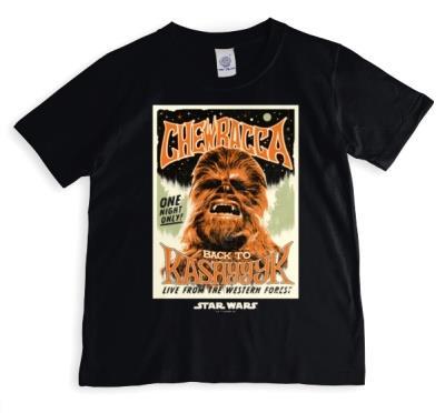 Star Wars Chewbacca Personalised T-shirt