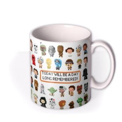 Star Wars 8 Bit Gaming Mug