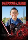 Star Wars Episode 9 The Rise of Skywalker Kylo Ren dark side personalised Photo Upload birthday card
