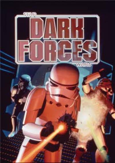 Star Wars Retro Dark Forces Gaming Birthday Card