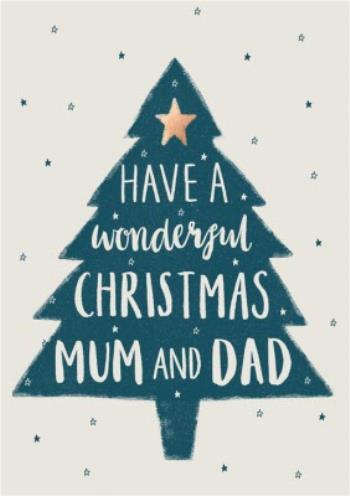 Sweet Sentiments Mum And Dad Christmas Card Moonpig