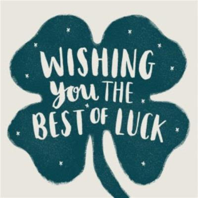 Sweet Sentiments Best Of Luck Card
