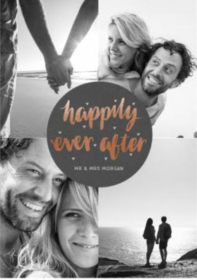 Personalised Happy Ever After Card