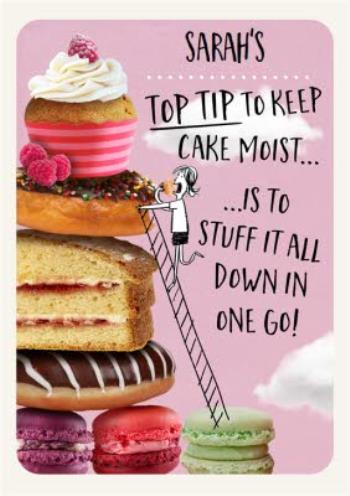 Super Funny Birthday Card For Her Cakes And Baking Moonpig Funny Birthday Cards Online Fluifree Goldxyz