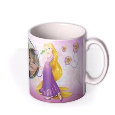 Disney Princess Rapunzel Photo Upload Mug