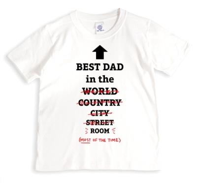 Best Dad In The World, Well Room T-Shirt