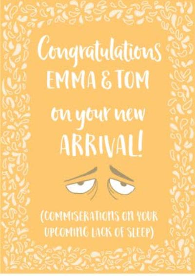 New Baby - Humour Quotes - congratulations on your new arrival!
