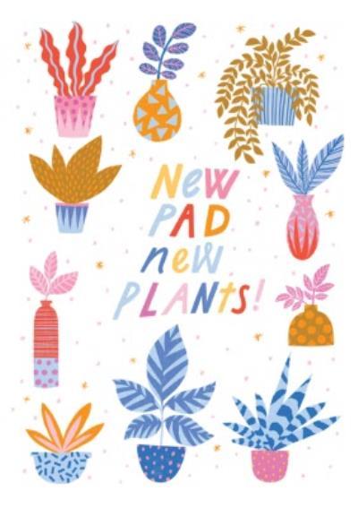 New Pad New Plants Card