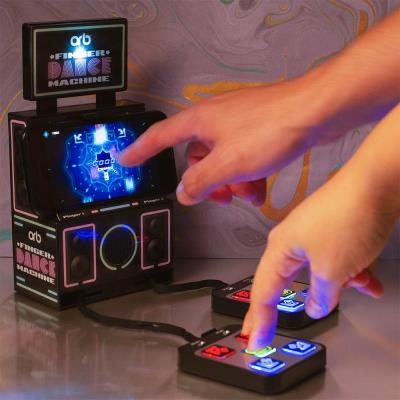 Retro Finger Dance Machine