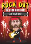 Rock Out On Your Birthday Photo Card