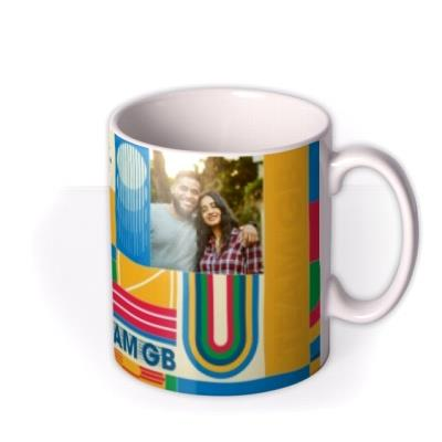 Team GB Colourful Photo Upload Mug