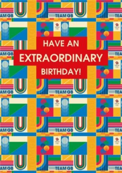 Team GB Have An Extraordinary Birthday Card