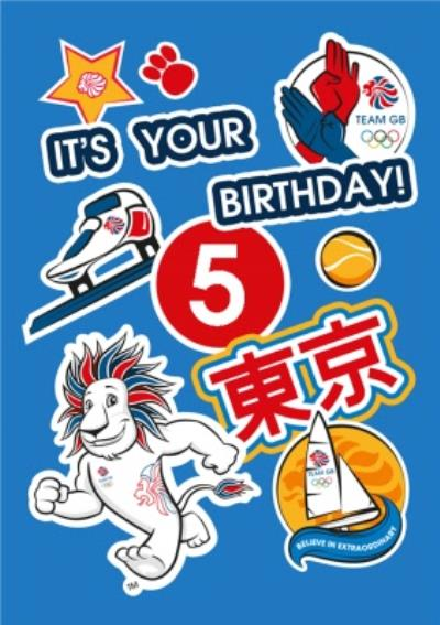 Team GB Its Your Birthday Sporty Card