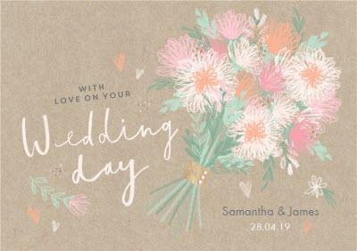 Wedding Card - Wedding Day