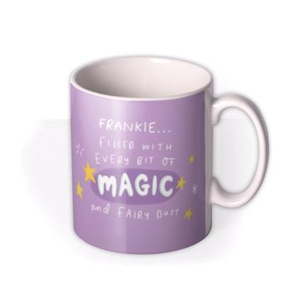 The Happy News Filled With Magic Personalised Mug
