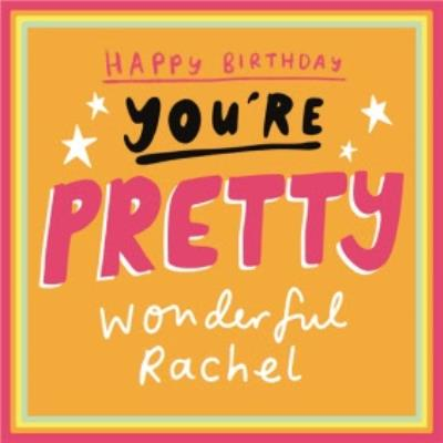 Birthday Card - Happy Birthday - Sentimental - Graphic