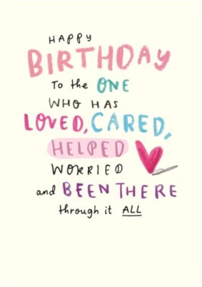 Happy Birthday Card - Mum - Sentimental - Thank You Mum - Photo Upload - Postcard