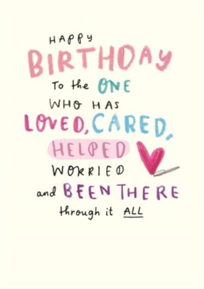 Happy Birthday Card - Mum - Sentimental - Thank You Mum - Photo Upload