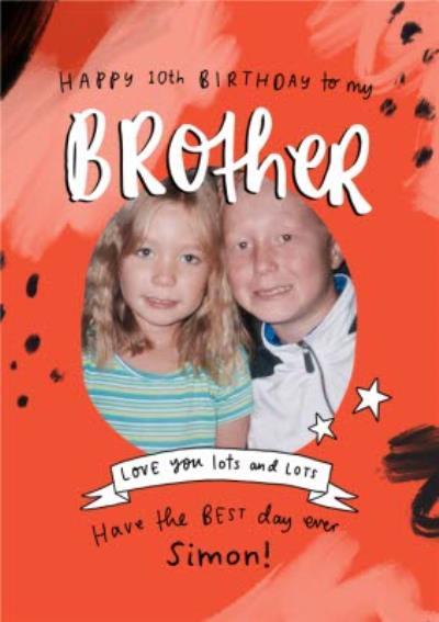 Emily Coxhead The Happy News Happy Birthday to my Brother Photo Upload