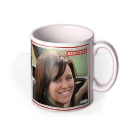 The News Scandal Personalised Photo Upload Mug
