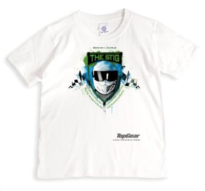 Top Gear The Stig Print Personalised T-Shirt