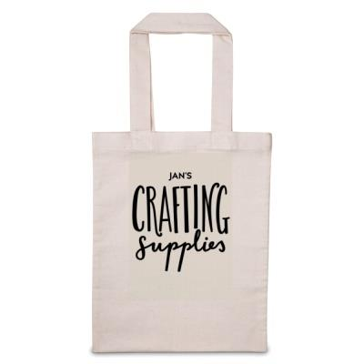 'Personalise Me' Crafting Supplies Tote Bag