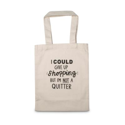 Give Up Shopping Tote Bag