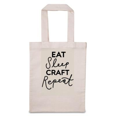 Eat Sleep 'Personalise Me' Repeat Tote Bag