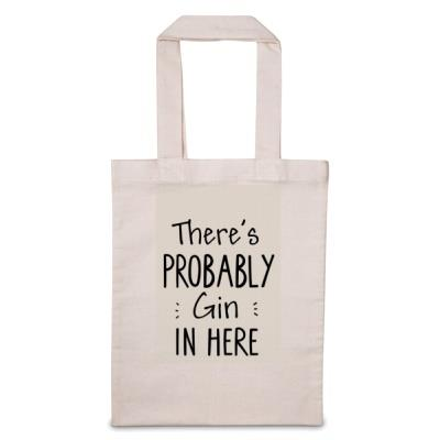 There's Probably 'Personalise Me' In Here Tote Bag
