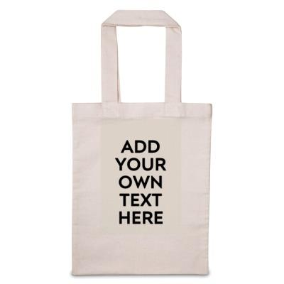 'Add Your Text Here' Tote Bag