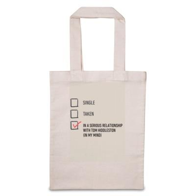 Personalised In A Serious Relationship With Tote Bag