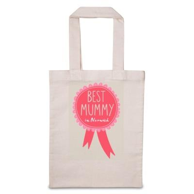 Personalised Best Mummy Tote Bag