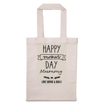Personalised Happy Mother's Day Tote Bag
