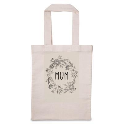 Personalised Mum Floral Tote Bag