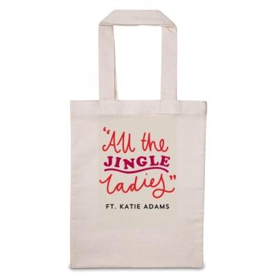 All The Jingle Ladies 'Personalise Me' Tote Bag