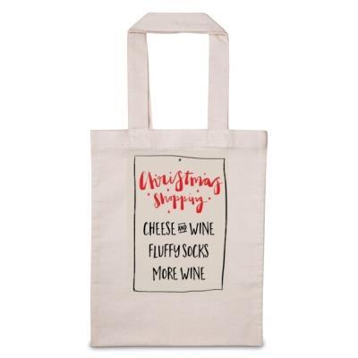 Christmas Shopping 'Personalise Me' Tote Bag