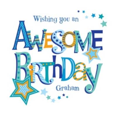Wishing You an Awesome Birthday Card
