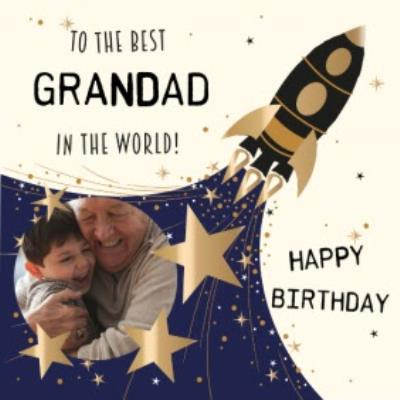 Birthday Card for Grandad - To the best Grandad in the world!