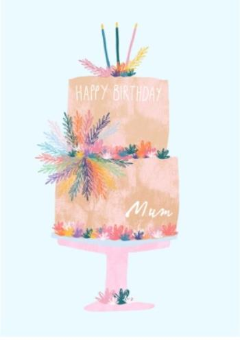 Awesome Female Birthday Card Birthday Cake Mum Moonpig Funny Birthday Cards Online Alyptdamsfinfo