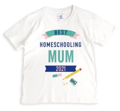 Best Homeschooling Mum T-Shirt