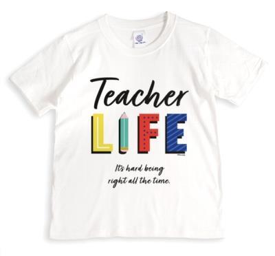 Teacher Life Colourful Thank You T-Shirt
