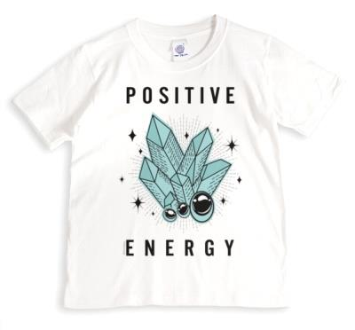 Mystical Crystals Positive Energy Non Personalised T Shirt